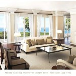 Edgemere Estate - Oakville luxury waterfront estate condos - interior rendering