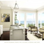 Edgemere Estate - Oakville luxury waterfront estate condos - interior rendering (3)