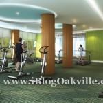 Rain Condos Oakville - Fitness Area