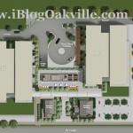 Rain Condos Oakville - Site Plan