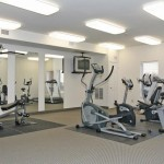 Fitness Room at Nottinghill Gate Condos - 1499 Nottinghill Gate, Oakville