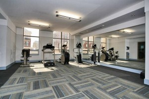 Oakville Condos One Oak Park - 2379, 2391 Central Park Dr - fitness room