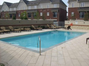 Oakville Condos One Oak Park - 2379, 2391 Central Park Dr - outdoor pool