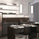 OpArt Loft Condos in Oakville - kitchen rendering