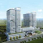 Rain Condos Oakville - Rain Rendering west exposure