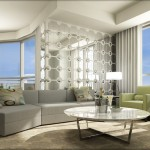 BluWater Condos Oakville - Luxury Waterfront Condominium - condo interior rendering
