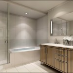 BluWater Condos Oakville - Luxury Waterfront Condominium - condo interior rendering bathroom