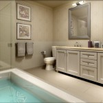 BluWater Condos Oakville - Luxury Waterfront Condominium - condo interior rendering bathroom (2)