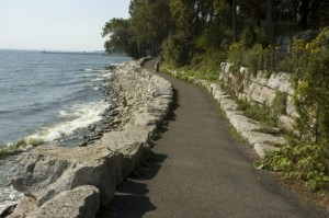 Oakville Waterfront Trail lake ontario