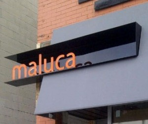 Maluca restaurant wine bar downtown oakville