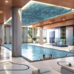 Rain Condos - Indoor pool rendering