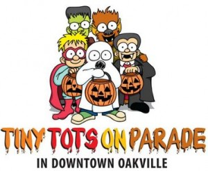 Downtown Oakville Halloween Kids Parade