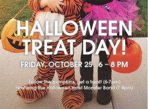 Halloween Treat Day at Hopedale Mall, South Oakville Centre