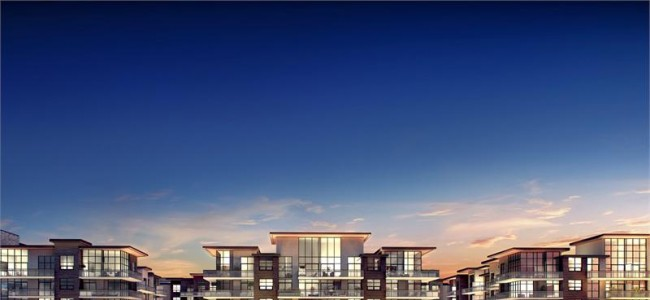 The Craftsman Condos Mississauga - lakeshore rd - condo exterior rendering building streetscape