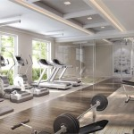 The Craftsman Condos Mississauga - lakeshore rd - condo interior fitness centre gym amenity rendering